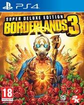 Cover van de game Borderlands 3 - Super Deluxe Edition - PS4