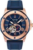 BULOVA - Horloge - Mannen - Blauw Ø 44 - 98A227