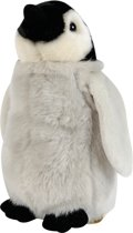 Nicotoy Staande Pinguin - Knuffel - 26 cm
