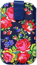 Accessorize - Navy Rose telefoonhoes (universeel)