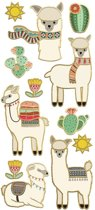 Paper House Stickers Llamas