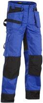 Blaklader Werkbroeken met kniestukken Korenblauw/ZwartNL:62 BE:56