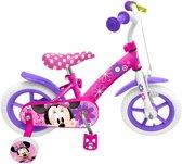 Disney Minnie Mouse - Fiets - Meisjes - Roze - 12 Inch