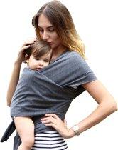 Baby draagdoek wrap Sling comfortabel en veilig 95% katoen en 5% spandex natuurlijke verfstof BuitenBaby
