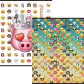 Schrift Emoji Girls - 3 stuks A5