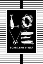 Love Boats, Bait & Beer: The go-to notebook for every boating, fishing and sea lover