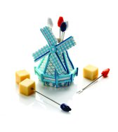 Boska Party Prikker Set - Molen - Delfts Blauw