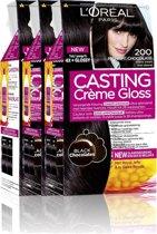 L'Oréal Paris Casting Crème Gloss 200 - Intens zwart - Haarverf