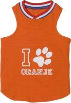 Adori Honden T-Shirt Oranje 23 cm