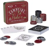 Gentlemen's Hardware Retro Campfire Games Texas Hold 'Em Poker Set