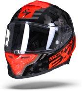 Scorpion Exo-R1 Air Ogi Zwart Rood Integraalhelm - Motorhelm - Maat M