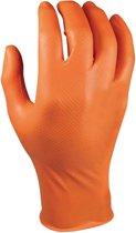 M-Safe 246OR Nitril Grippaz handschoen Oranje Maat XXL