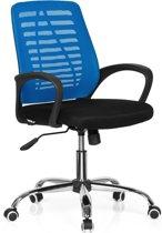 hjh office Vido Net - Bureaustoel - Zwart / blauw