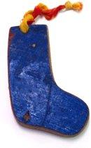 Otentic Design Decoratief Ornament Sok - Sloophout