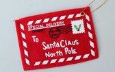 Enveloppen - Kerstenveloppen - rood/wit - Kerst envelop - Kerst - Kerst enveloppen - Kerstboom - Kerstdecoratie - Kerst decoratie