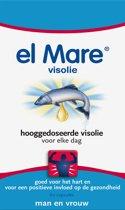 El Mare Visolie Hooggedoseerd Visolie - 60 Capsules - Visolie - Voedingssupplement