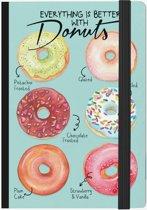 LEGAMI notitieboek Donuts - 13x18cm - Gelinieerd