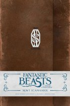 Harry Potter Fantastic Beasts and Where to Find Them Ruled Journal - Newt Scamander - Hard cover