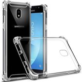Transparant TPU Hoesje met versterkte randen voor Samsung Galaxy J5 2017