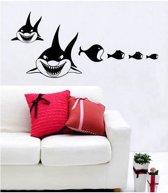 Coart Muursticker Haaien