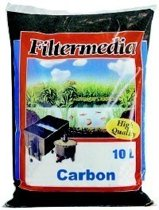 Filtermedia actief kool 10 ltr