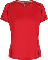 Newline Base Coolskin Tee 13603-44 - Sportshirt - Dames - Red - Maat L