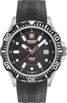 Swiss Military Hanowa 06-4306.04.007SM horloge heren - zwart - edelstaal