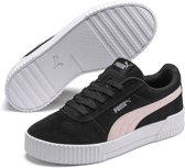 PUMA Carina Dames Sneakers - Puma Black-Rosewater-Puma Silver - Maat 34.5