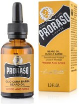 Proraso Beard Oil Wood and Spice baardolie 30 ml