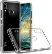 Huawei P20 Lite Hardcase Hoesje Transparant + Screen Protector
