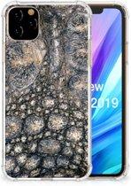 iPhone 11 Pro Max Case Anti-shock Krokodillenprint