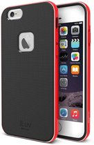 iLuv protective cover Metal Forge - rood - voor Apple iPhone 6 - 4.7
