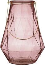 Bloomingville Lantaarn van glas, 38 cm