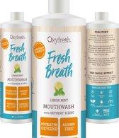 Oxyfresh Power Rinse Lemon-Mint Mondwater - 473 ml
