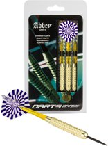 Abbey Darts Darts - Brass - Blauw/Wit - 23