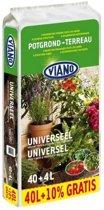 Viano universele potgrond 40 + 4 liter gratis - set van 2 stuks