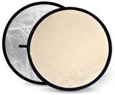 Godox Soft Gold & Silver Reflector Disc - 110cm