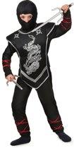 Zwart ninja kostuum voor jongens  - Verkleedkleding - 152/158