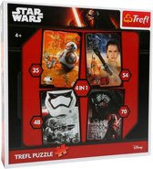 Trefl Star Wars Legpuzzel 4-in-1