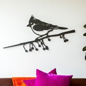 Metalbird Wallpieces XXL Kuifmees