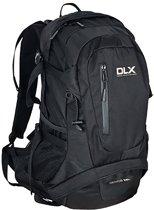DLX rugzak Deimos 28 liter reflecterende biezen - Zwart