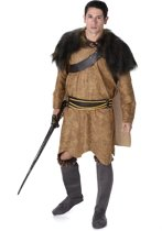 Bruin Viking kostuum voor mannen  - Verkleedkleding - XL