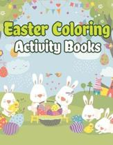 Easter Coloring Activity Books