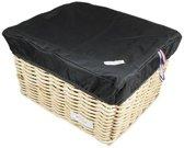 Box L Zwart voor fietsmand of fietskrat