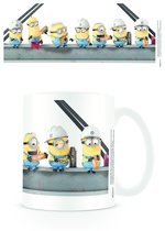 Starskie Minions Lunch at a Skyscrapper Boxed Mug