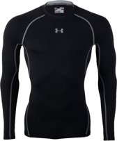 Under Armour Hemd schwarz/grau