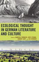 Ecological Thought in German Literature and Culture