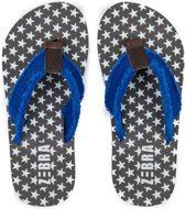 Zebra slippers Boys stars maat 29/30