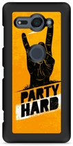 Xperia XZ2 Compact Hardcase Hoesje Party Hard 2.0