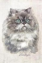 Himalayan Cat Portrait Notebook: Blank Lined Journal for Cat Lovers, Cat Mom, Cat Dad and Pet Owners - 6x9 with College Ruled Pages
